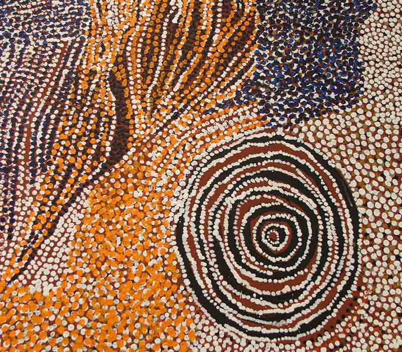 Bill Whiskey Tjapaltjarri, 242 x 187cm, #494 Image