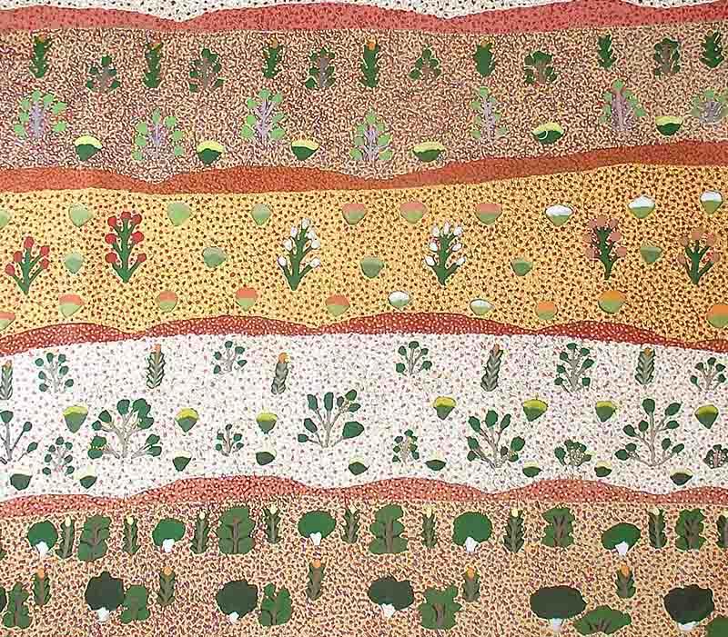 Daisy Moss Kemarra, 122 x 107cm, #670 Image