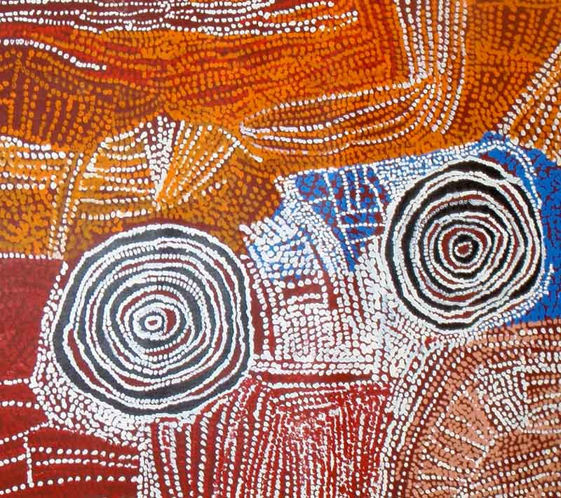Bill Whiskey Tjapaltjarri, 183 x 90cm, #503 Image