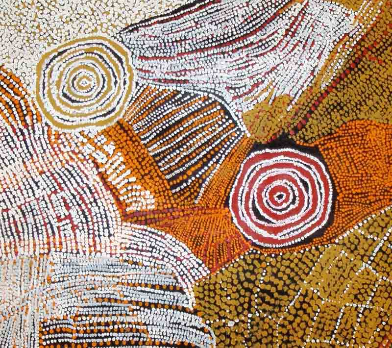 Bill Whiskey Tjapaltjarri, 182 x 94cm, #504 Image