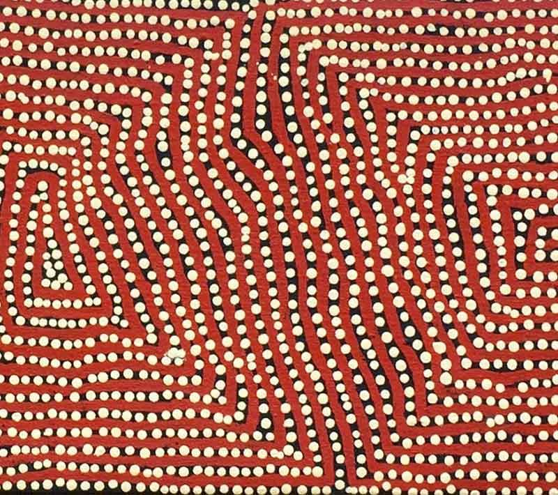 Charlie Tjapangati, 107 x 28cm, #781 Image
