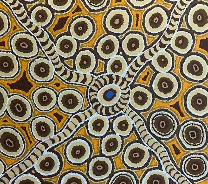 Itjiwalyi Watson, 76 x 76cm, #247 Image