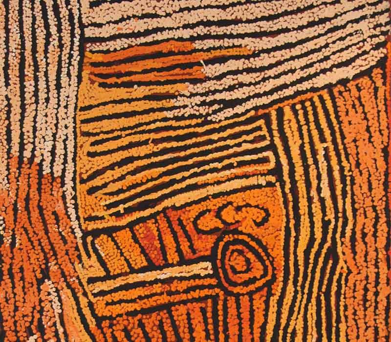 Nancy Nungurrayi, 122 x 61cm, #1344 Image