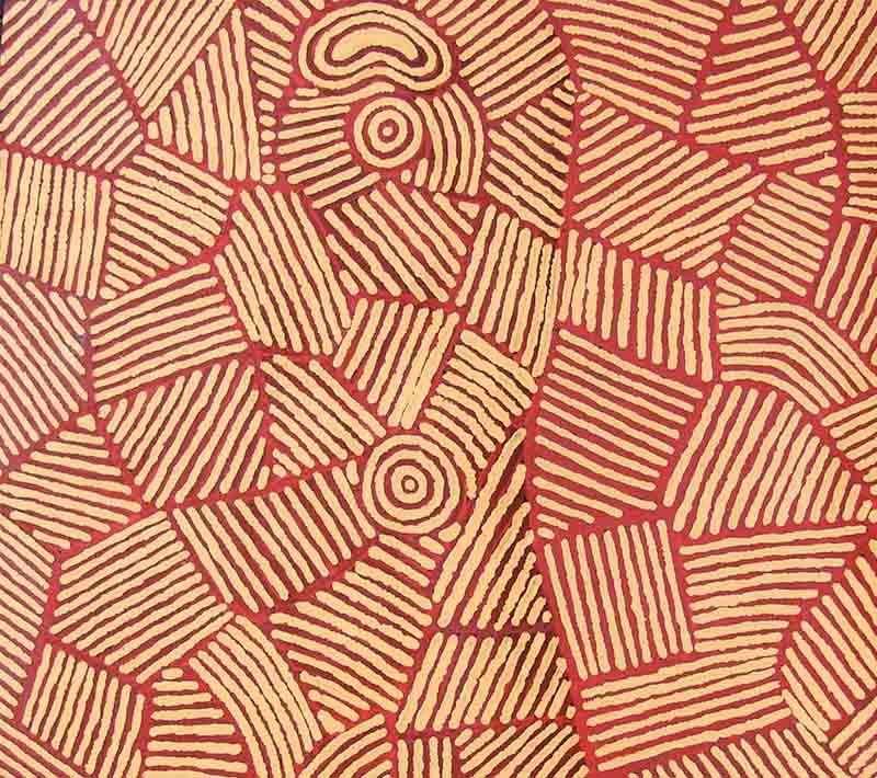 Polly Jackson Napurrula, 101 x 76cm, #310 Image