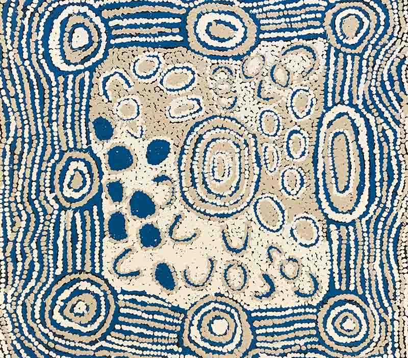 Maisie Campbell Napaltjarri, 60 x 60cm, #1423 Image