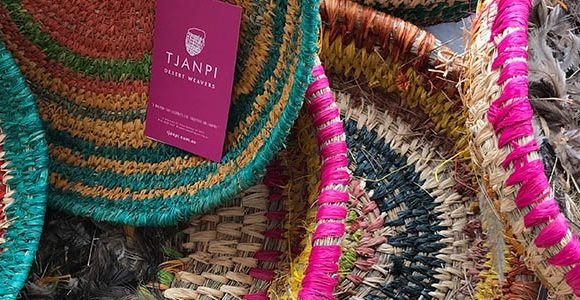 Tjanpi Desert Weavers Baskets