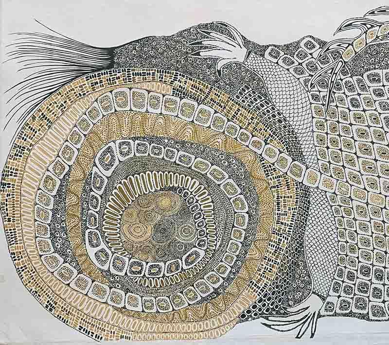 Helen McCarthy Tyalmuty, 150 x 90cm, #YN702 Image