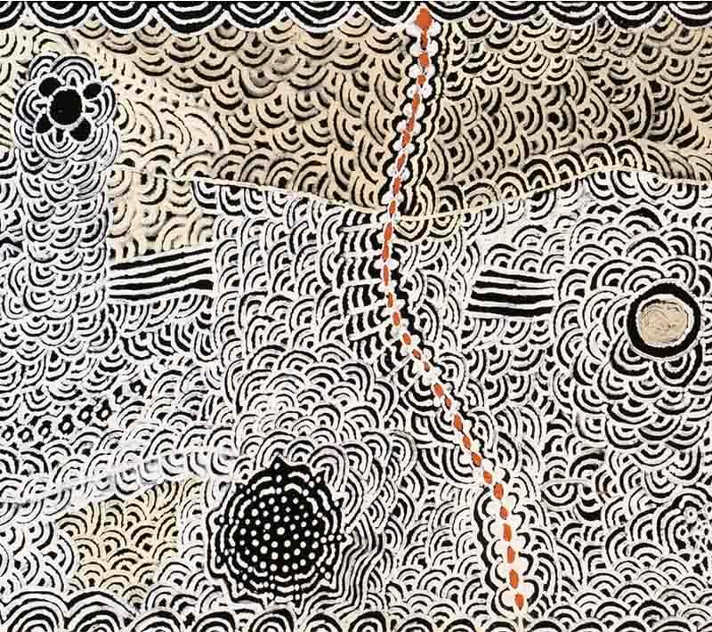 Isobel Gorey Nampitjinpa, 122 x 46cm, #1469 Image