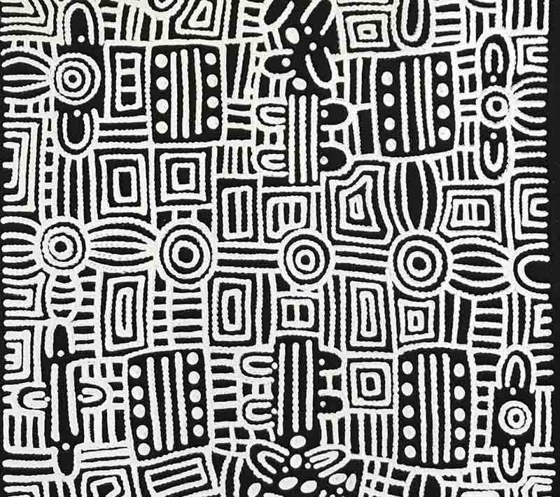 Doreen Dickson Nakamarra, 91 x 61cm, #138N Image