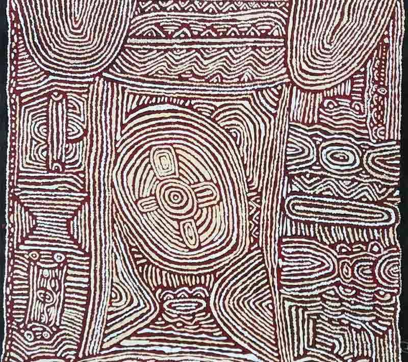 Lorna Brown Napanangka, 120 x 100cm, #133N Image
