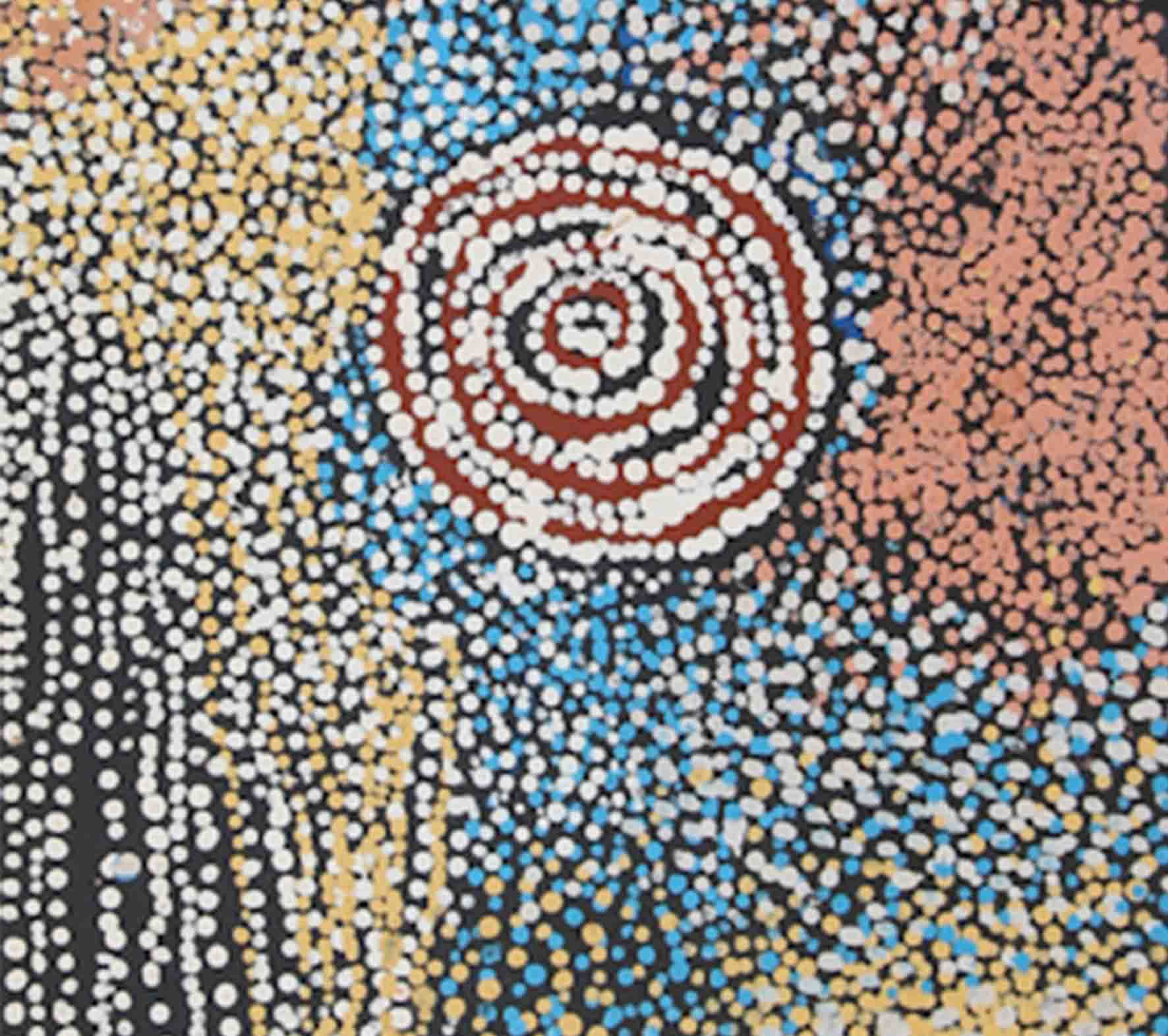 Bill Whiskey Tjapaltjarri, 125 x 40cm, #1501 Image
